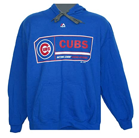 finest selection 12f31 f7c7c Amazon.com : Majestic Chicago Cubs Adult Small National ...