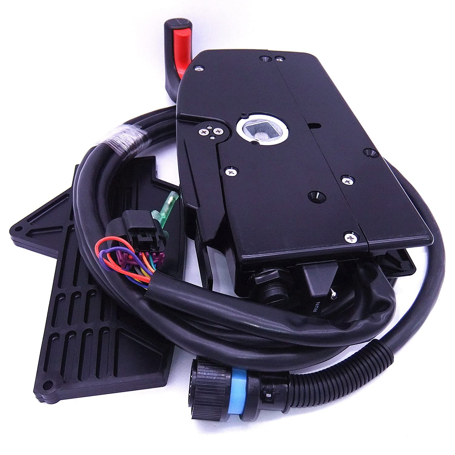 Amazon.com : 881170A13 Boat Motor Side Mount Remote Control Box with 14 Pin  for Mercury Outboard Engine 14Pin, Right Hand : Sports & Outdoors