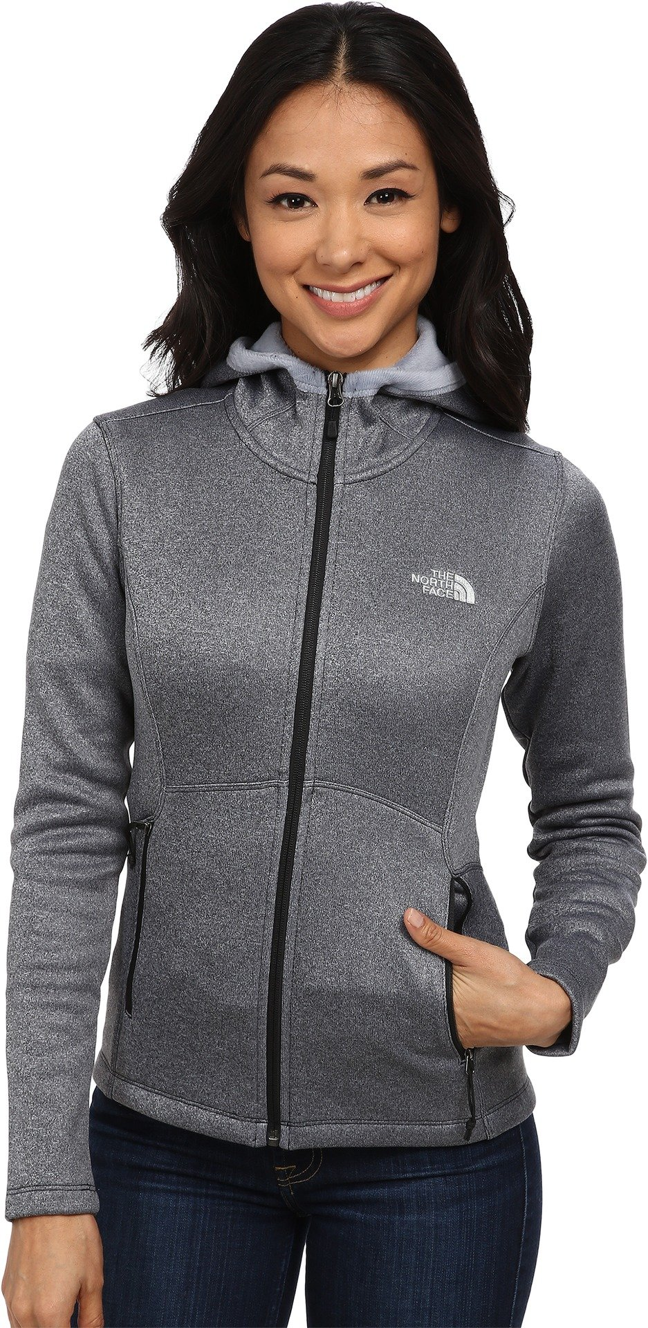 The North Face Women's Agave Hoodie TNF Black Heather (Prior Season) Small