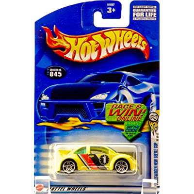 Hot Wheels 2002-045 First Editions Volkswagen New Beetle Cup 1:64 Scale: Toys & Games
