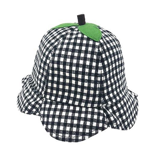 0f0f8c7094b Amazon.com  accsa Toddler Kid 100% Cotton Novelty Fruit Fisherman Bucket Hat  12-18 Month  Clothing