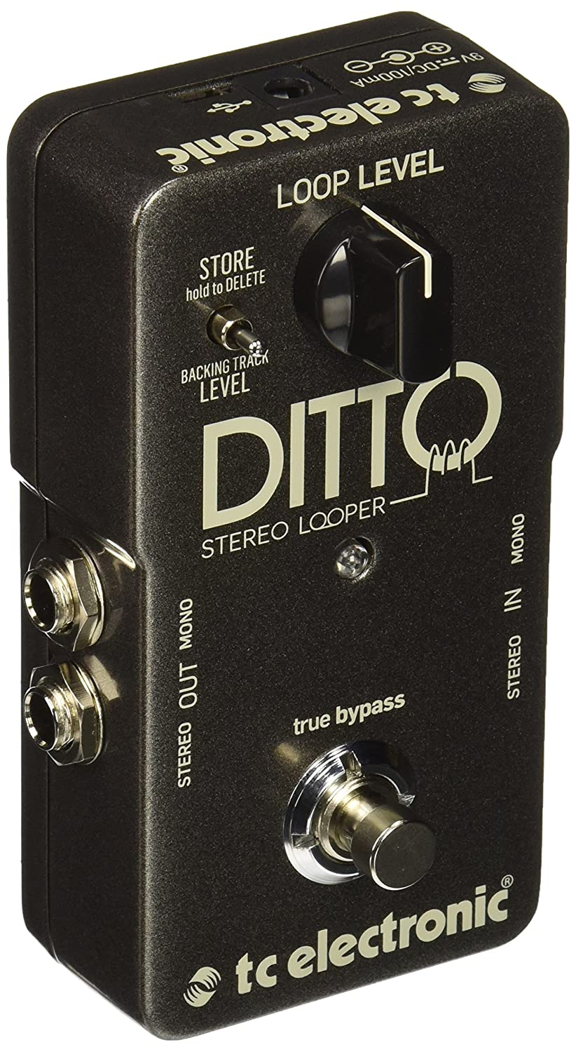 tc electronic ditto stereo looper guitar bass effects pedal free 2day new 5706622011350 ebay. Black Bedroom Furniture Sets. Home Design Ideas