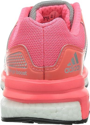adidas Damen Revenge Boost 2 Sneakers, Grau (Mid Grey S14