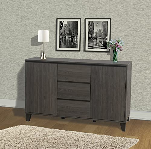 Kings Brand Furniture Wood Buffet Server Cabinet Console Table