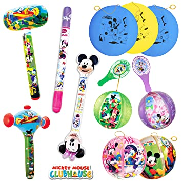 TB TOYS Mickey/Minnie Kit de Fiesta de cumpleaños con 11 Juguetes ...