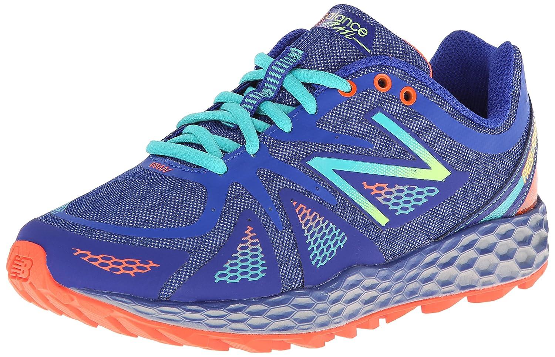 New Balance Women's WT980 Fresh Foam Trail Shoe B00HE43WZU 5 B(M) US Blue/Green