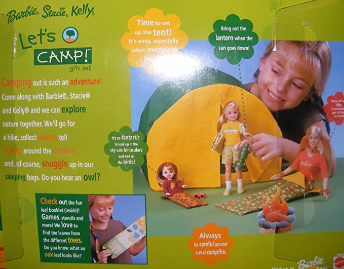 Amazon.es: Barbie Playset Special Edition Gift Set Lets Camp (2001): Juguetes y juegos
