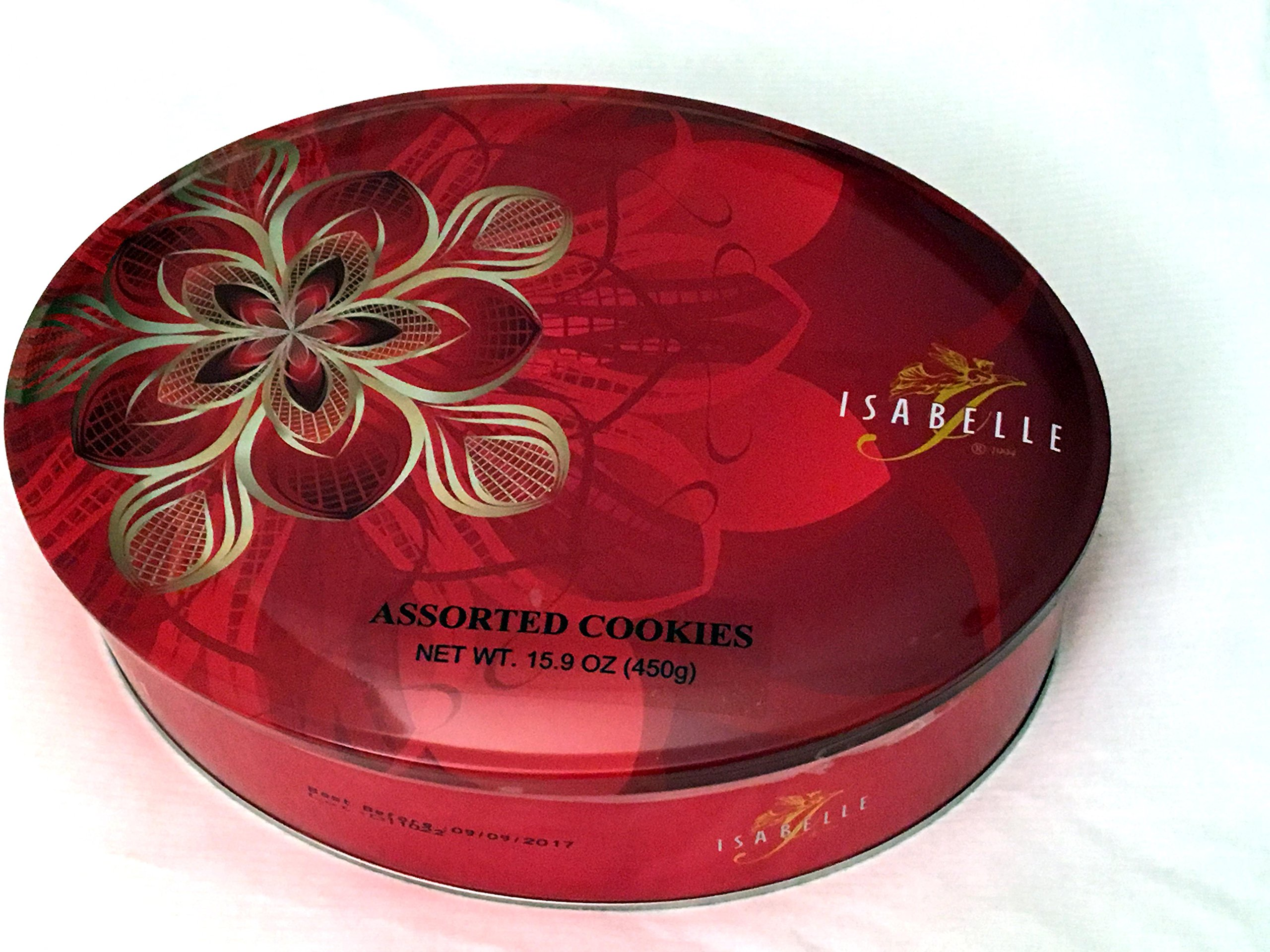 Isabelle Assorted Cookies 15.9 oz Tin