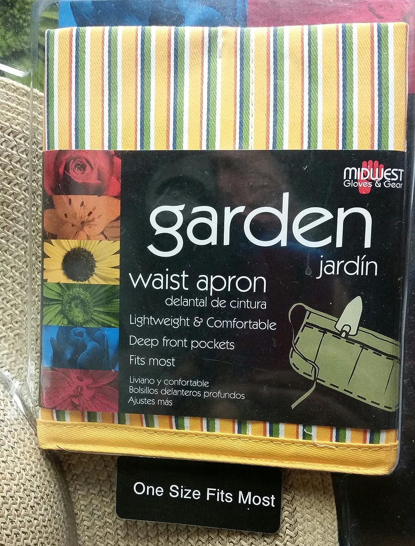 Garden hat waist apron canvas glove 3 piece garden combo pack