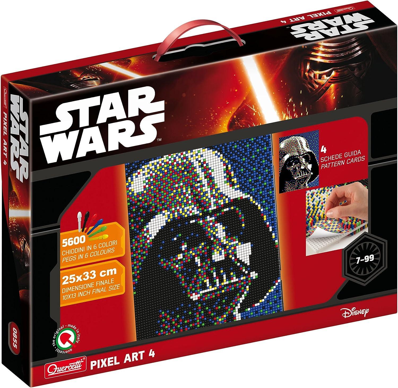 Quercetti Q0855 Pixel Art 4 Darth Vader