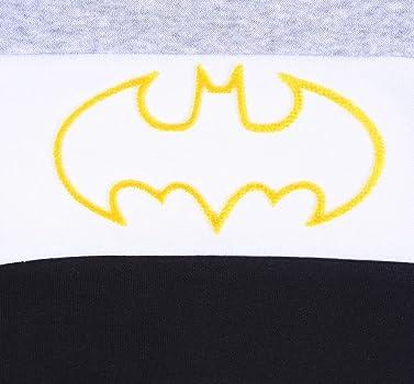 Chándal Gris y Negro Batman DC Comics 0-3 Meses: Amazon.es: Ropa y ...