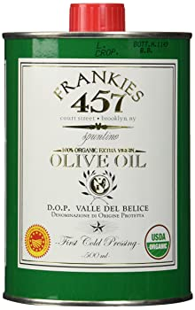Frankies 457 Organic Real Sicilian Olive Oil