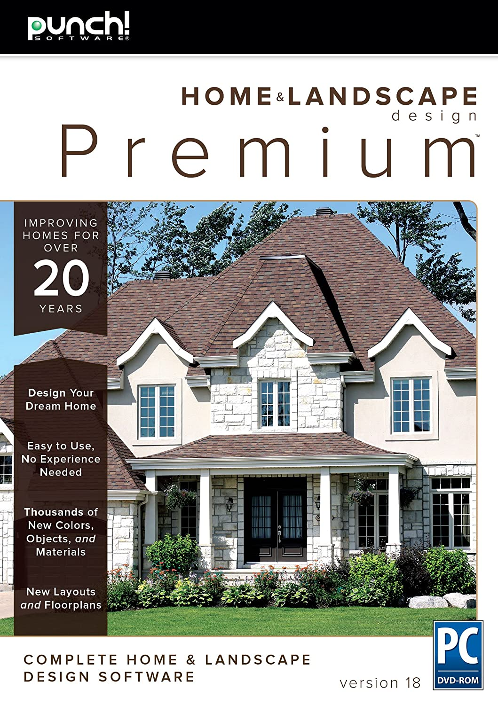 home and landscape design. Home  Landscape Design Premium v18 for Windows PC Amazon com Punch