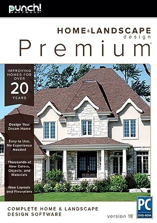 Amazon.com: Punch! Home & Landscape Design Premium v18 for Windows PC
