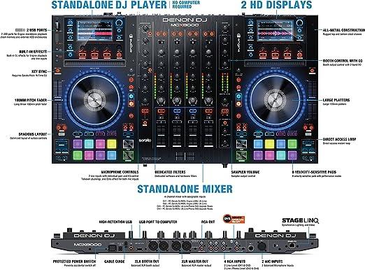 DENON MCX8000 Serato: Amazon.es: Instrumentos musicales