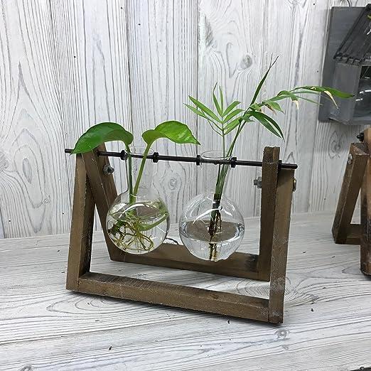 Hydroponic hogar decoración cristal reciclado, macetas, jarrón ...