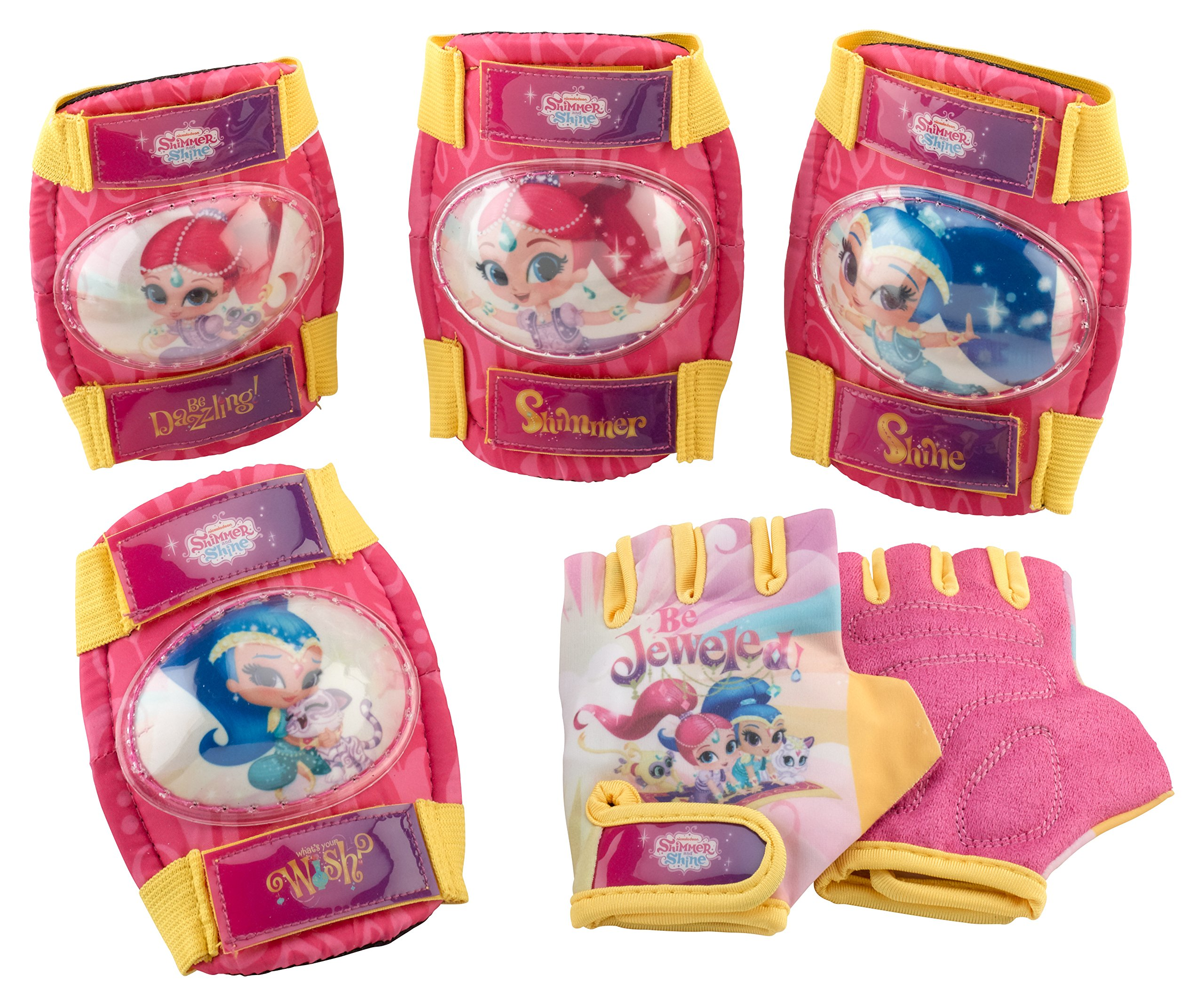 Shimmer & Shine Girl's Pad Set with gloves