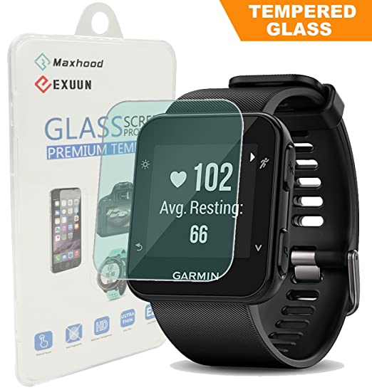 Amazon.com: Garmin Forerunner 35 Screen Protector Glass ...