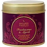 Shearer Candles Frankincense Myrrh 大香味金罐蜡烛 - *红色