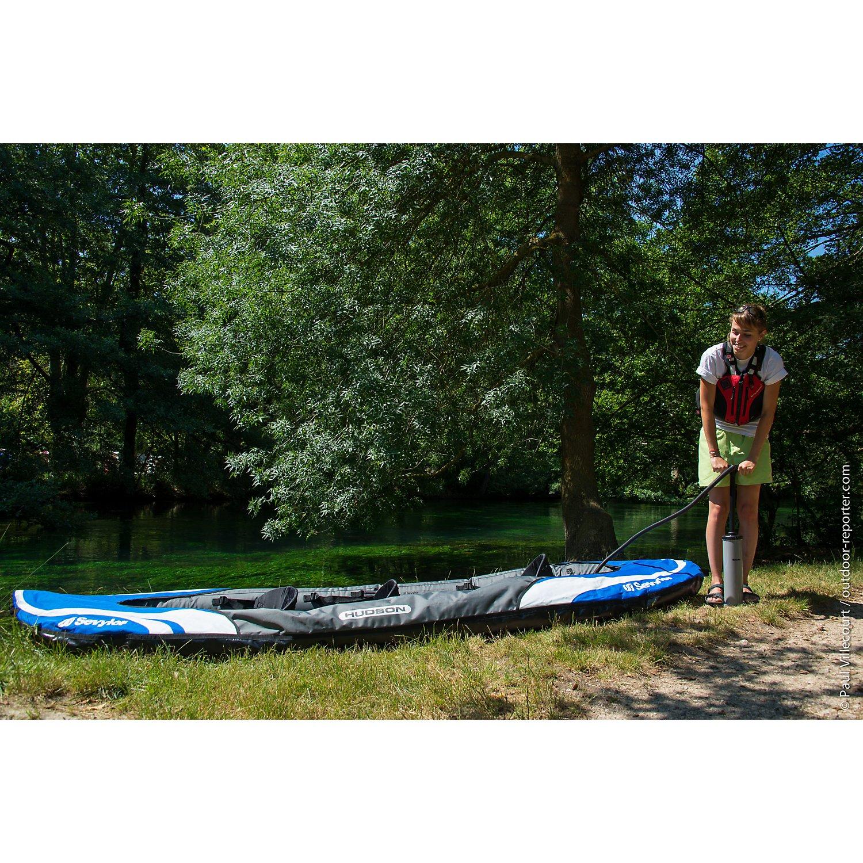 Sevylor Hudson Kayak Hinchable, Unisex, Azul: Amazon.es: Deportes ...