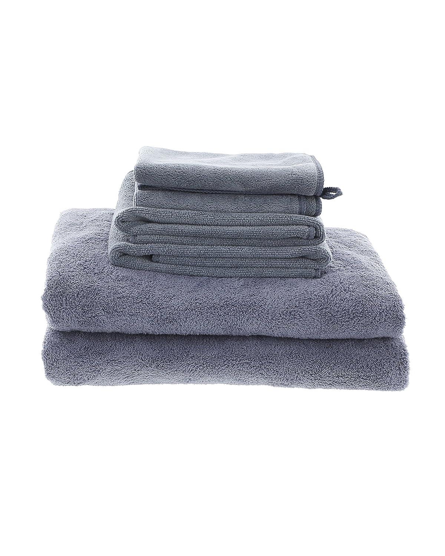 Best White MojaFiber Microfiber Bath Combo Bath Towel (2) | Hand Towel (2) | Face Cloth (2) MojaWorks