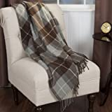 Bedford Home Cashmere Like Blanket Throw, Brown
