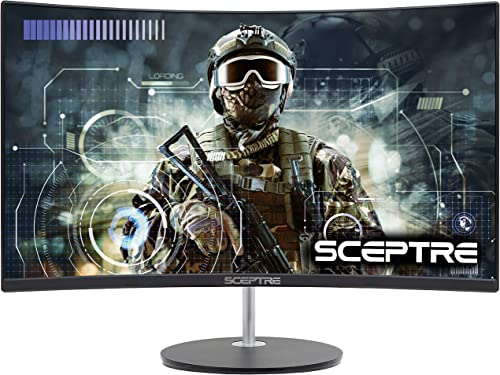 """Sceptre Curved 27"""" 75Hz LED Monitor HDMI VGA Build-In Speakers review"""