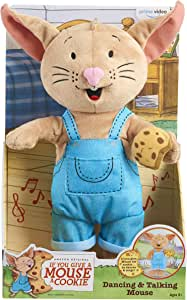 "If You Give a Mouse a Cookie 12"" Dancing & Talking Mouse - Amazon Exclusive"
