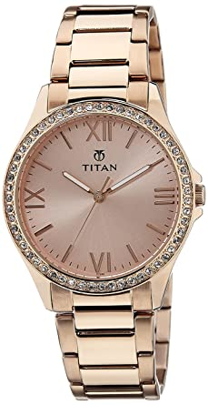 e137d4b0141 Buy Titan Purple Analog Gold Dial Women s Watch -NK9955WM01 Online ...