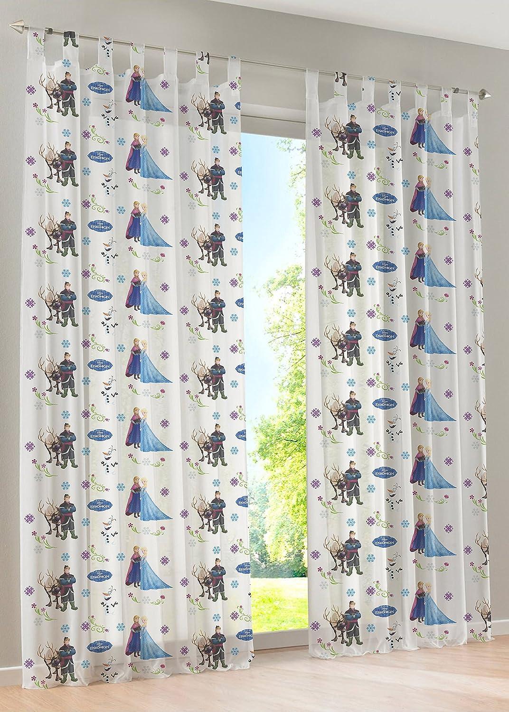 Disney Ice Queen - sipario anello decorativi sciarpa tende tenda ciclo decorazioni sciarpa per bambini - 145 x 245 cm - disponibile in bianco e rosa dal Venditore, Pink, 145 x 245 cm brandseller