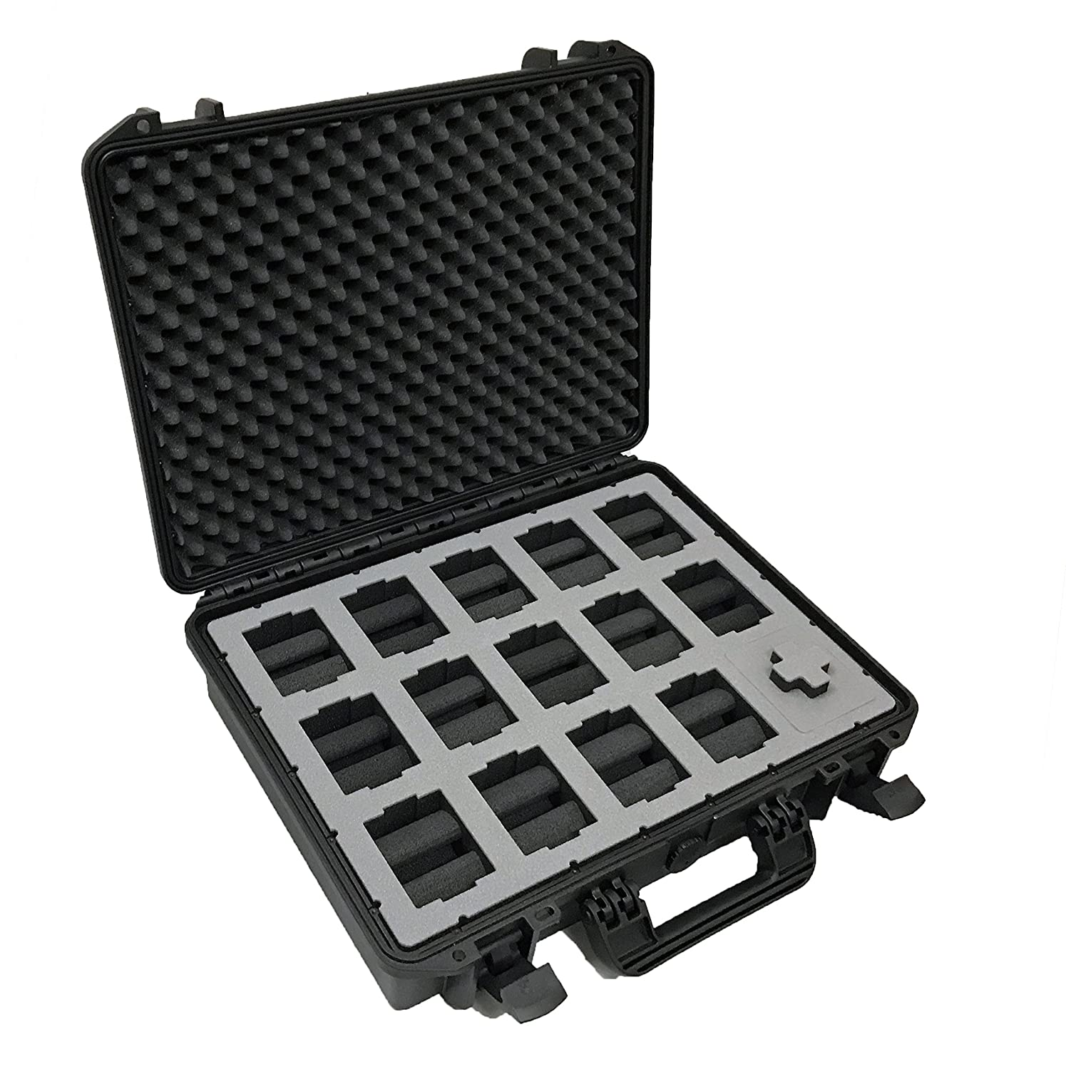 Amazon.com : MC-CASES Watch Travel Case for up to 14 Watches ...