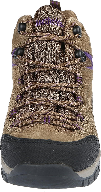 Northside Womens Pioneer Mid Leather Waterproof Hiking Shoe