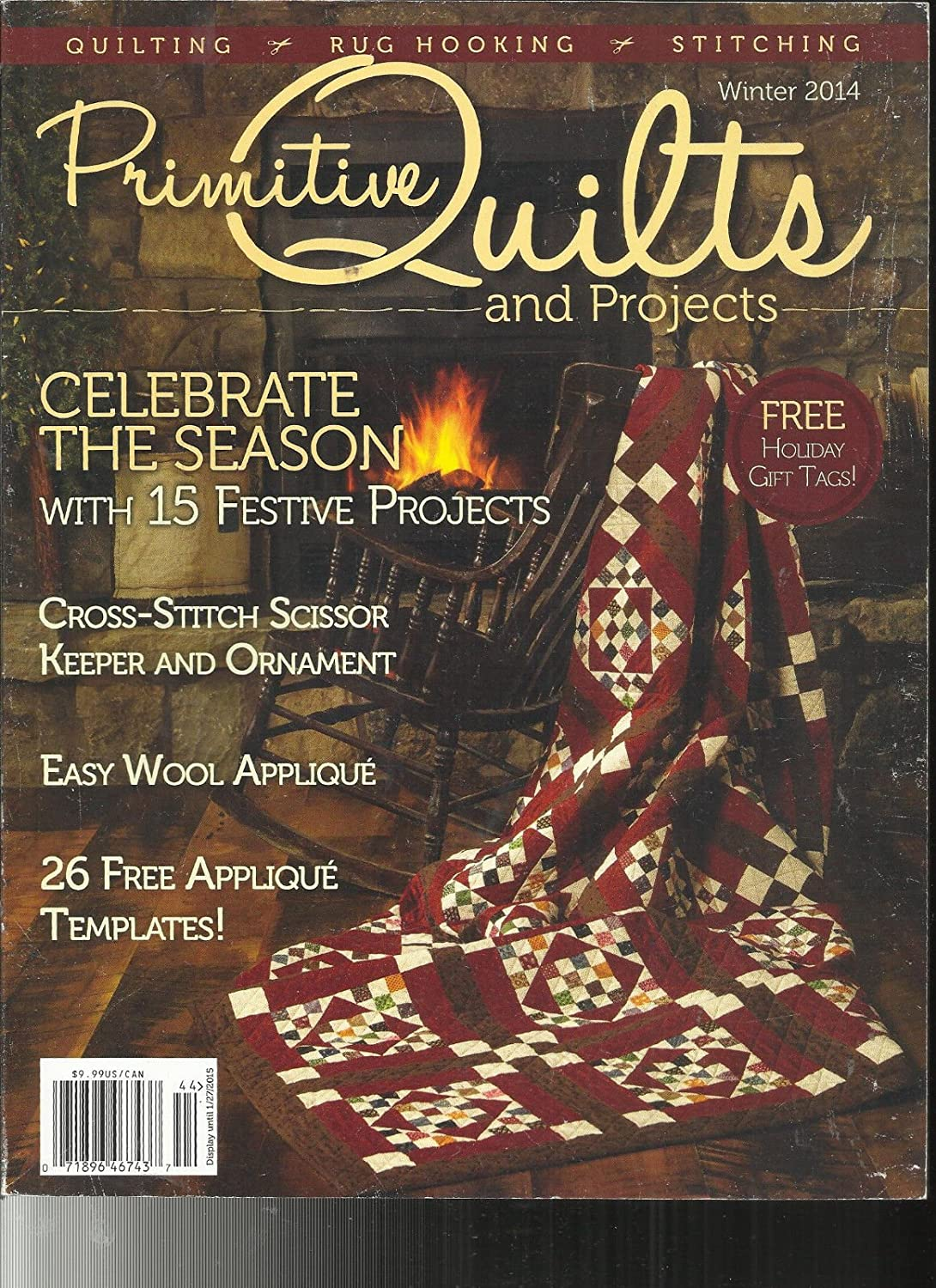 PRIMITIVE QUILTS And Projects Magazine Celebrate the season Winter 2014 s3457