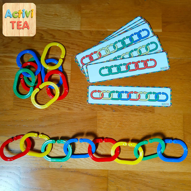 Cadenas de colores