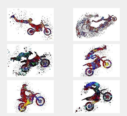 MOTOCROSS DIRT BIKE JUMP POSTER ART PRINT A3 A4 SIZE BUY 2 GET ANY 2 FREE