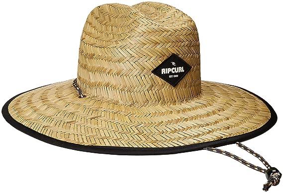 4cfbc09d56e Amazon.com  Rip Curl Men s Paradise Straw Lifeguard Sun Hat