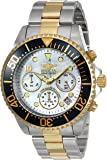 Invicta Men's 'Pro Diver' Quartz Stainless Steel Casual Watch, Color:Two Tone (Model: 22038)