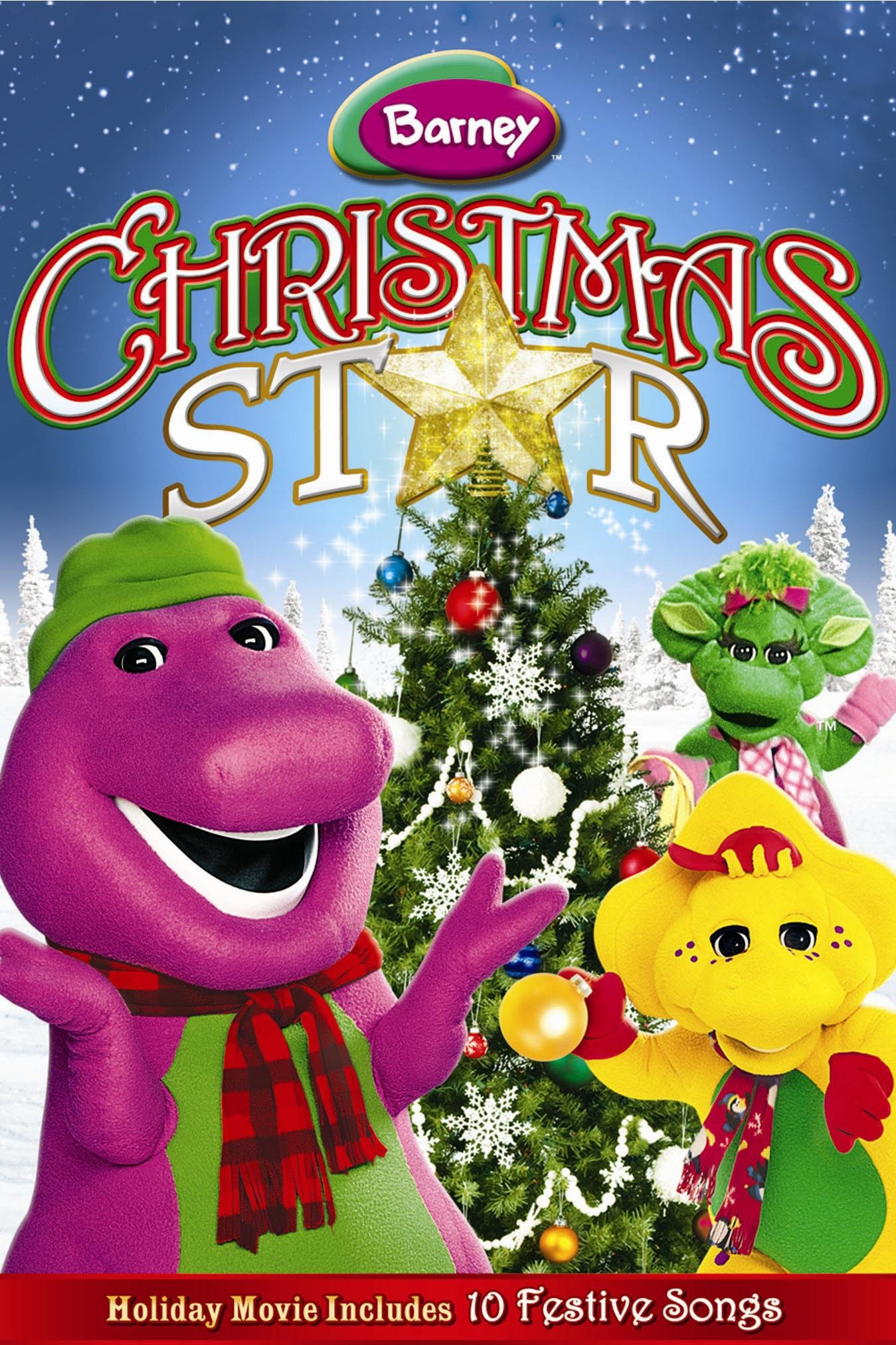 Amazon.com: Barney: Christmas Star: Allyn Carrell, Tim Dever, Bill ...