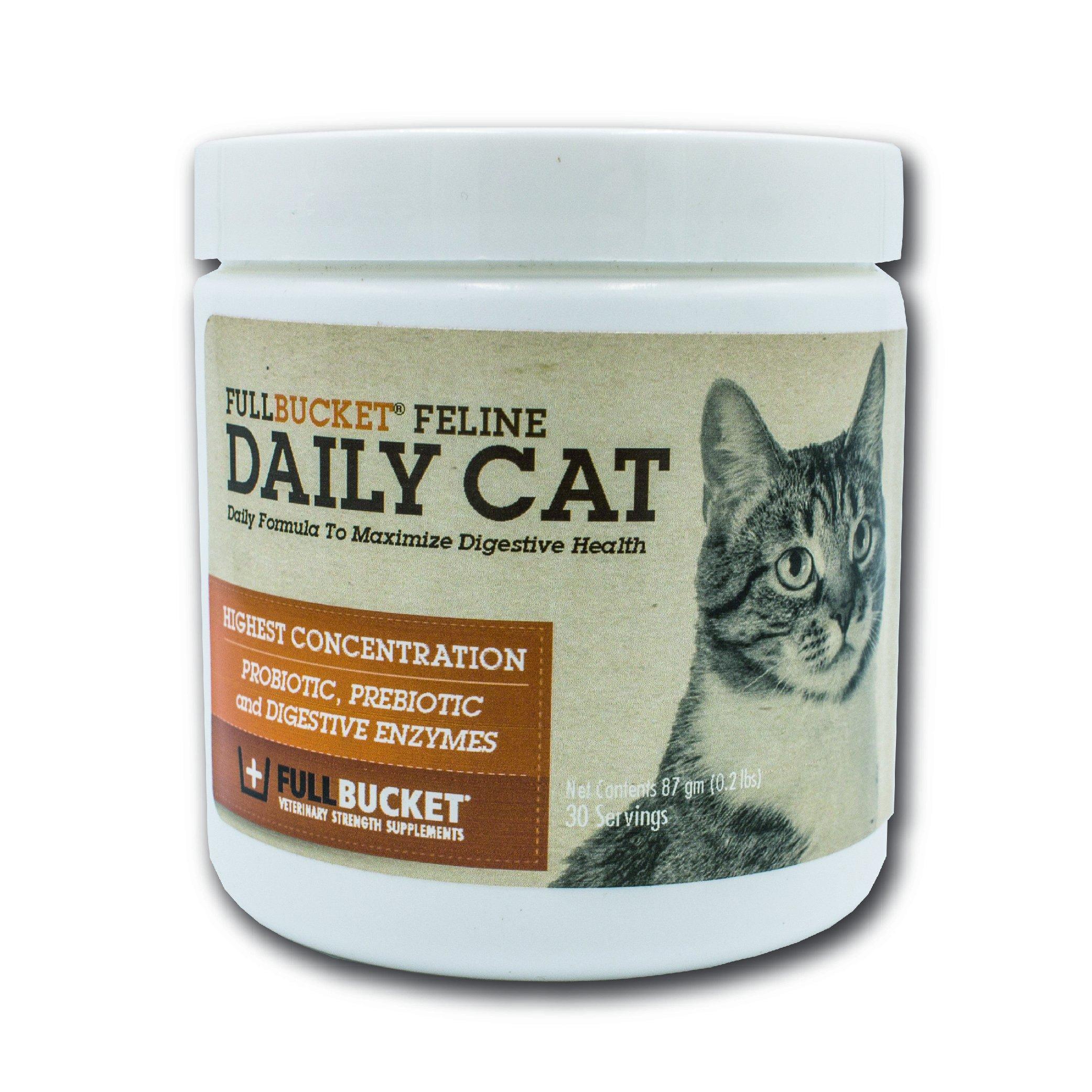 FullBucket Daily Cat Probiotic Powder 87gm by FullBucket
