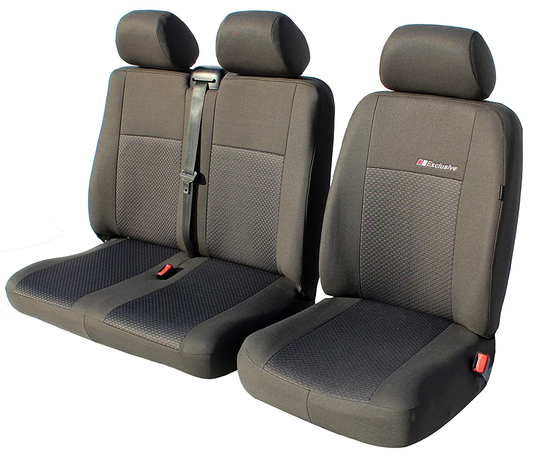 Exclusive Autositzbez/üge Sitzbez/üge Universal Fahrersitz Diactric 2er Beifahrersitzbank Schonbez/üge