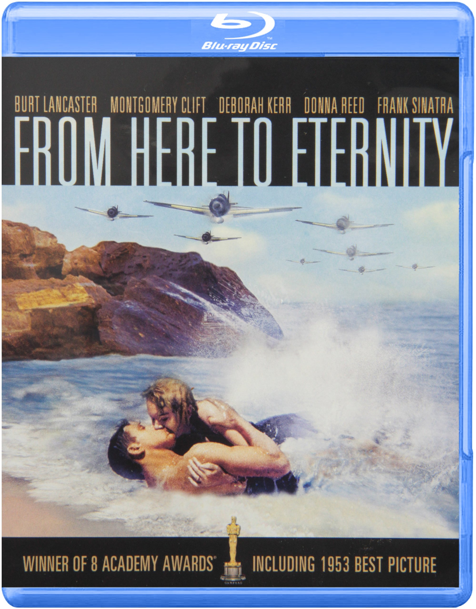 Blu-ray : From Here to Eternity (Black & White, Full Frame, Dubbed, , Dolby)