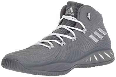 detailed look fa20f 15ae0 adidas Men s Crazy Explosive 2017 Grey Four Silver Metallic Grey Two 5 ...