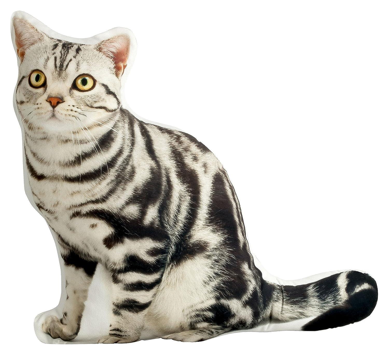 naturgetreues un cómodo cojín cojín (Adorno Gatos en forma de gato grande 52x 50cm get2trade