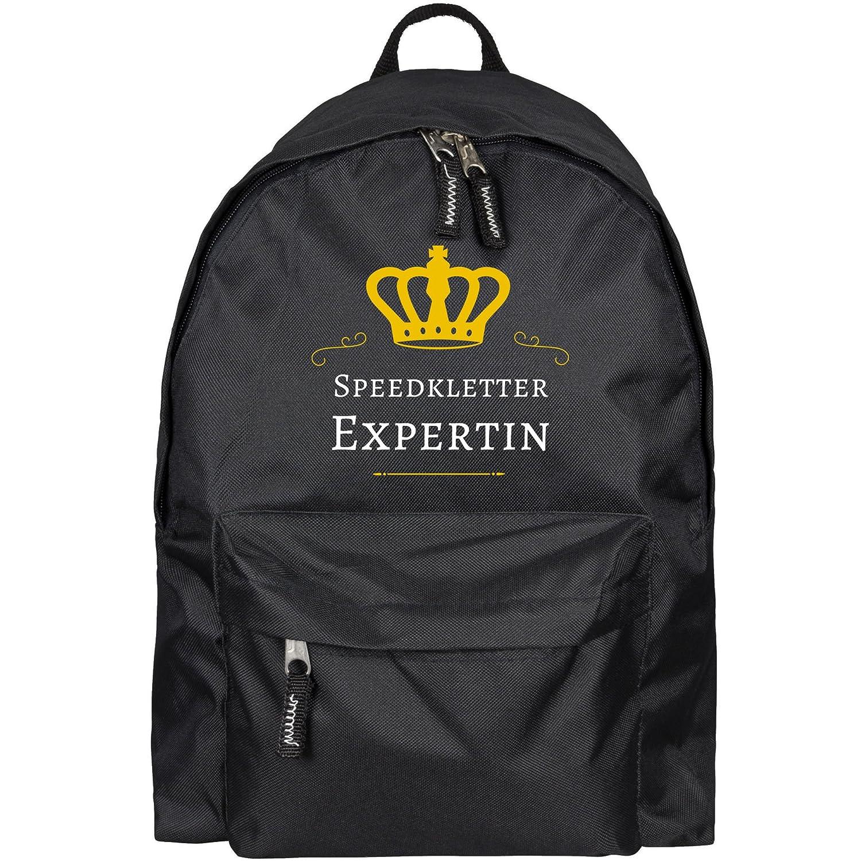 Speedkletter experte sac à dos noir