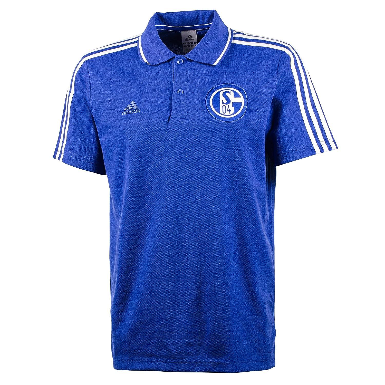 adidas FC Schalke 04 Polo, Color Azul Real, Hombre, Azul Cobalto ...