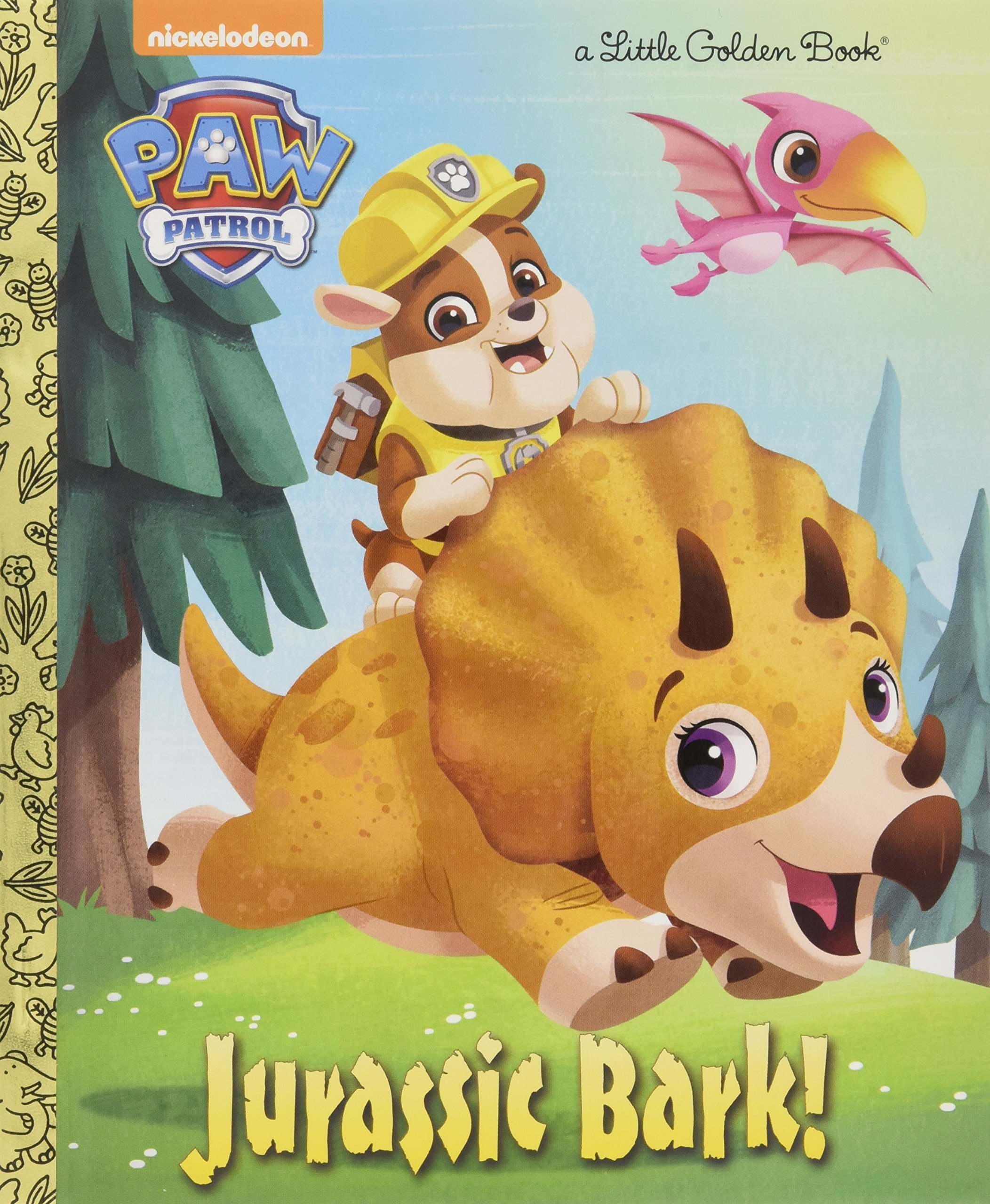 Jurassic Bark Patrol Little Golden product image
