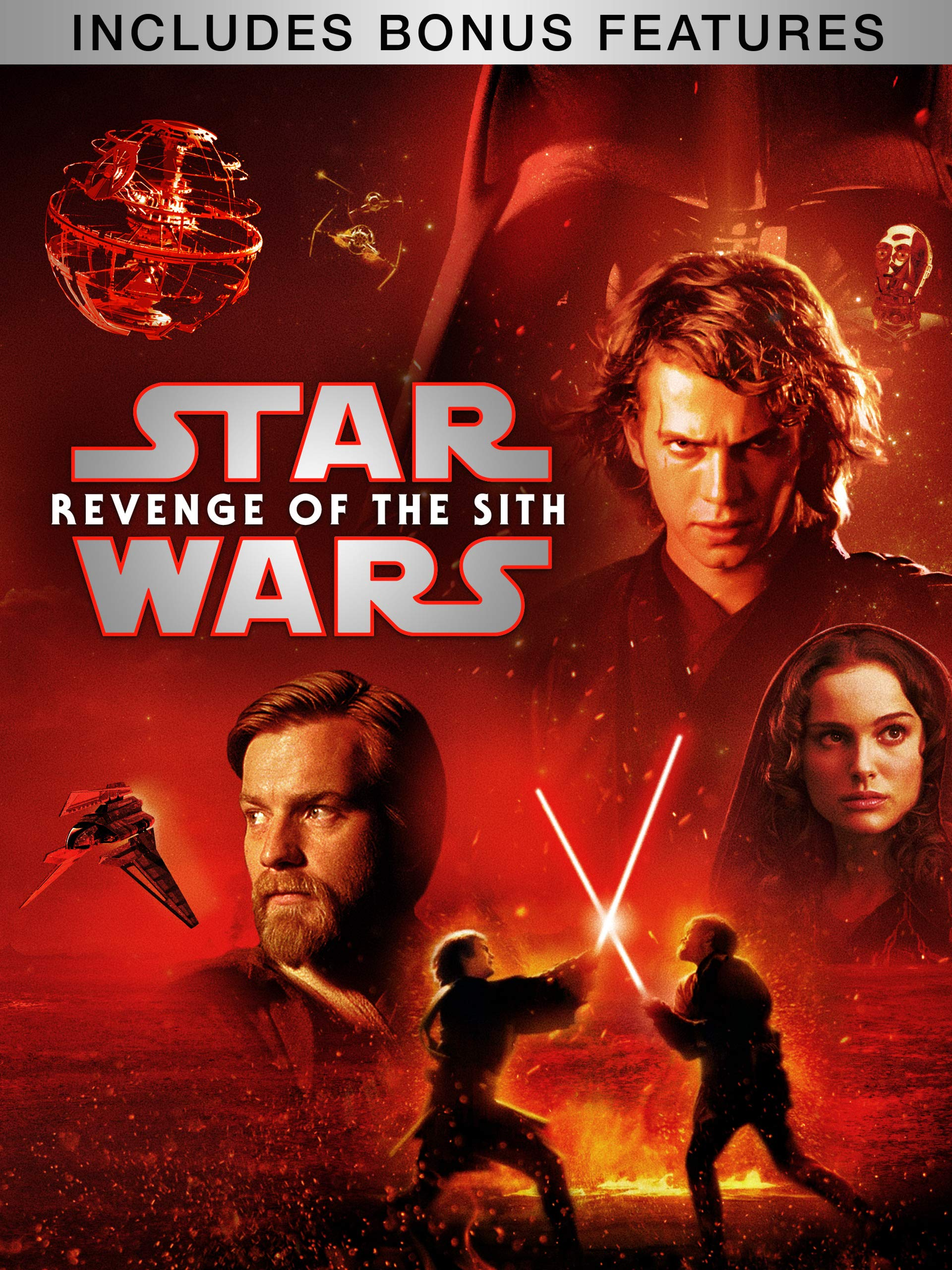 Amazon Com Watch Star Wars Revenge Of The Sith Plus Bonus