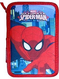 Paxos 82946 – Estuche triple Tejido parte 13 x 20 x 6 cm – Spiderman