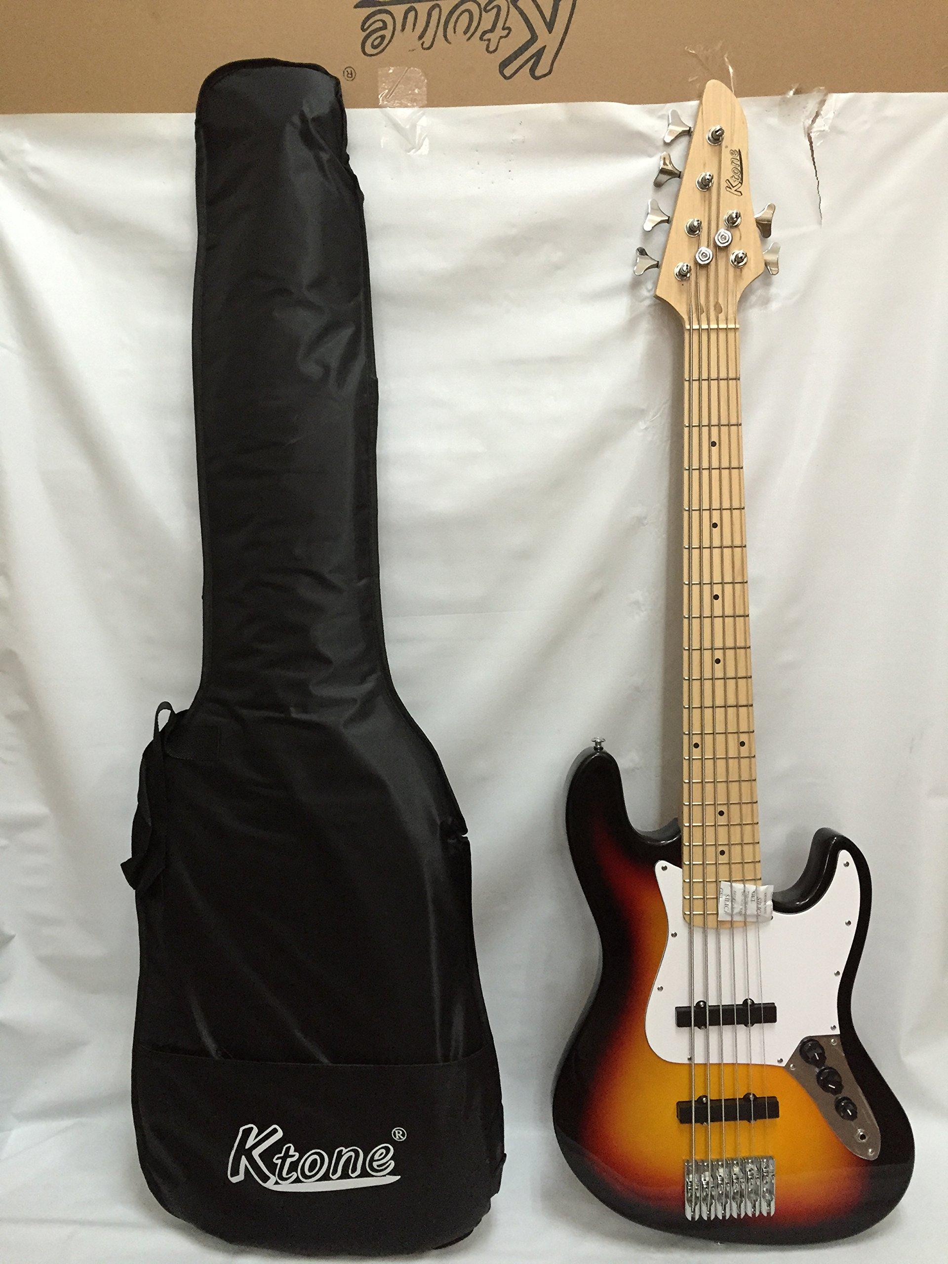 6 3ts 6 String Bass Guitar, Free Gig Bag