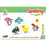 Ratna's Educational Jigsaw Puzzle Range for Kids (Spelling)